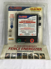 New Fi Shock Ss 550x 15 Acre Fence Charger Electric Fence Energizer Livestock