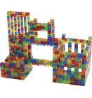 Excellerations Translucent Standard Building Bricks 810 Pieces - Ages 3+