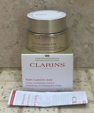 CLARINS NUTRI-LUMIERE JOUR DAY CREAM 50ml NEW & SEALED RRP £90