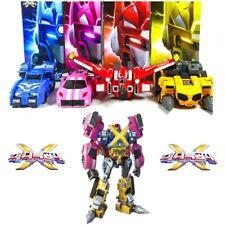 Miniforce X Bolt /Semi /Max /Rucybot Transformer Combined Robot 2018 New Ver 4P