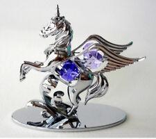 FATA CAVALLO CRYSTOCRAFT SWAROVSKI Crystal Ornament Ricordo Scatola Regalo di Natale