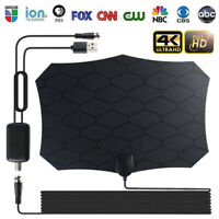 TV Antenna Indoor Amplified  Signal Booster HD Digital HDTV 120 Miles 4K 1080P