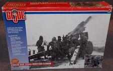 Hasbro 2001 GI Joe Korean War 155 mm Howitzer Cannon In The Box 1/6th Scale