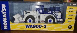 First Gear 3338 Komatsu WA900-3 Wheel Loader - White Diecast 1/50 MIB