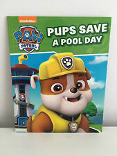 Nickelodeon Paw Patrol Pups Save A Pool Day New 2016 Book Kids Bedtime Storybook