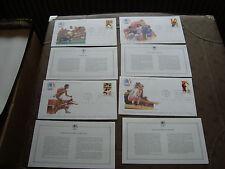 ETATS-UNIS - 4 enveloppes 1er jour 17/6/1983 (jo los angeles)(cy86)united states