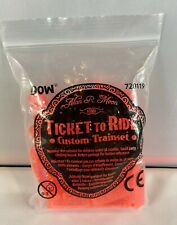 Ticket to Ride - Translucent Red Color Custom Trainset - Promo