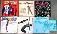 JAZZ/TAP DANCE/EXERCISE LP & Booklet Lot: JO-JO SMITH Bill Gary FRANK HATCHETT +