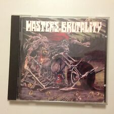 CD MASTERS OF BRUTALITY