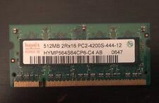 RAM Memory Dell Inspiron E1505 512MB PC2-4200S Hynix Korea 09