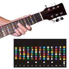 Neewer Guitar Fretboard Note Sticker Fingerboard Frets Map Decals fit Beginners