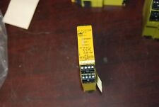 pilz Pnoze1p-24Vdc-2so, Safety Relay, 24vdc, Removed from working Machine