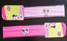 2x Minnie Mouse Set Haarband Haarschmuck Stirnband Disney Mädchen pink lila