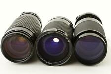 lot of 3x zoom lenses, apertures are stuck wide open