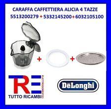 CARAFFA CAFFETTIERA ALICIA 4 TAZZE DE LONGHI ORIGINALE 5513200279