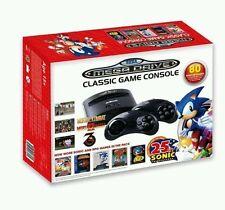 Sega MegaDrive With 80 Built-In Games 25th Anniversary Ed Sonic - Mortal Kombat