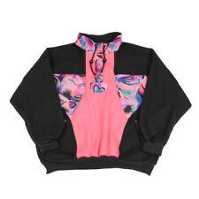 Vintage C&A Estampada Suéter Lana | Sudadera Jumper Esquí grandes | Retro 80s