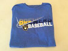 Milwaukee Brewers Baseball Shirt Adult Size Medium!