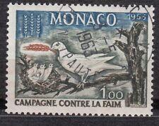 TIMBRE MONACO OBL N° 611   CAMPAGNE MONDIALE CONTRE LA FAIM SYMBOLES