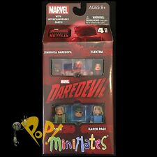 MARVEL Minimates DAREDEVIL Box Set NETFLIX Sealed Series 2 ELEKTRA Karen PAGE!