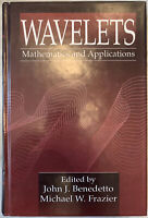 """""""Wavelets: Mathematics and Applications"""" 1994 1st Edition HC Benedetto & Frazier"""