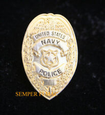* US NAVY POLICE MINI LAPEL HAT PIN UP LAW ENFORCEMENT SECURITY SP USN VET NR
