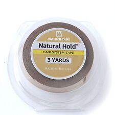 Walker Tape Natural Hold ( 3/4'' x 3 Yards) rotolo adesivo per protesi capelli