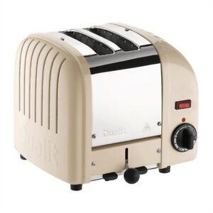 Dualit Cream Toaster 20247 DB2C - BRAND NEW