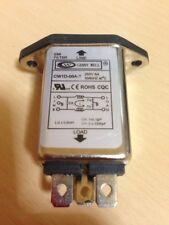 CW1D-06A-T Panel Mount IEC320 C14 Male Socket Power Line EMI Filter