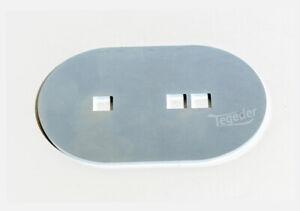 Gegenplatte für Zurrmulde oval für Größe 0 und 1 Anhänger Zurröse Halter