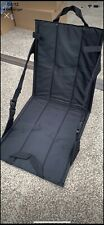 Tiger Black FOLDING SEAT in bag disguise outdoor camping chair beach picnic boat