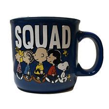 Peanuts Squad 20oz Coffee Mug Sally Linus Charlie Brown Lucy Snoopy Woodstock