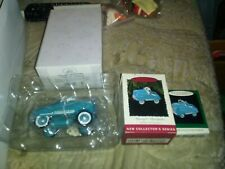 Lot Of 3 Hallmark Keepsake 1955 Murray Champion Mini Kitty Car Collection All.
