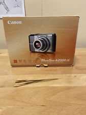 Canon PowerShot A2000 IS 10.0MP Digital Camera - Gunmetal and Silver