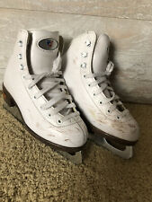 Riedell Figure Skates - Used With Blemishes - Youth Size J13