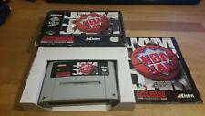 NBA Jam Super Nintendo SNES OVP PAL CIB Boxed