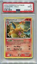 Pokemon Card Unlimited Charizard LV. 60 Arceus Set 1/99, PSA 9 Mint