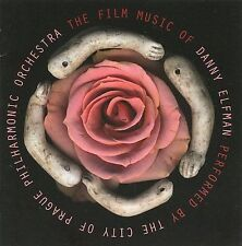 The Film Music of Danny Elfman by City of Prague Philharmonic Orchestra (CD, Se…