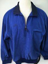 Arnold Palmer Men's Golf Jacket Blue Size XL 1/4th Zip Front Pockets