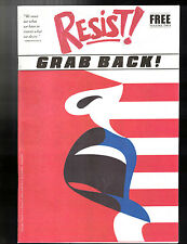 RESIST! GRAB BACK! Vol. 2 Political Magazine/Newspaper