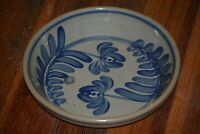 """BBP BEAUMONT BROTHERS POTTERY 1994 STONEWARE LOW BOWL / PIE BAKING PAN 9 1/2"""""""