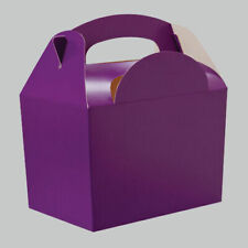 PARTY Food Lunch BOXES - 14 Colour Range - Kids Birthday Meal Loot {Card}