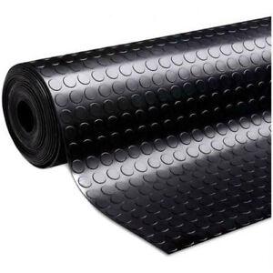 COIN  Gym Floor Mat  Rubber Roll Garage Golf Cart Truck Bed Flooring