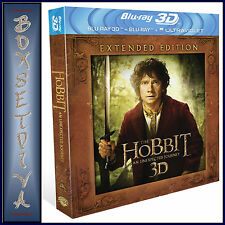 THE HOBBIT-AN UNEXPECTED JOURNEY - EXTENDED EDITION * NEW BLURAY - REGION FREE*
