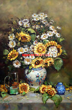 """24x36""""100% hand painted oil flat,Flower, Florists, High Quality"""