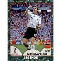 Panini WM 2018 681 Legends Miroslav Klose World Cup WC 18Wappen Glitzer Foil