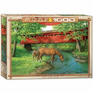 Eurographics Puzzle 1000 Piece Jigsaw puzzle - Sweet Water Bridge EG60000834