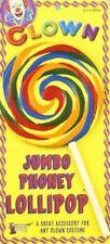 Jumbo Fake Lollipop Clown Prop Costume Accessory