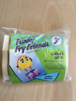 Rollin Rocky Mcfry Vintage 1989 Funny Fry Friends Mcdonald Happy Meal Skating
