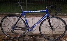Bici corsa alu-carbon Saccarelli Campagnolo Record titanium 10S Ursus road bike